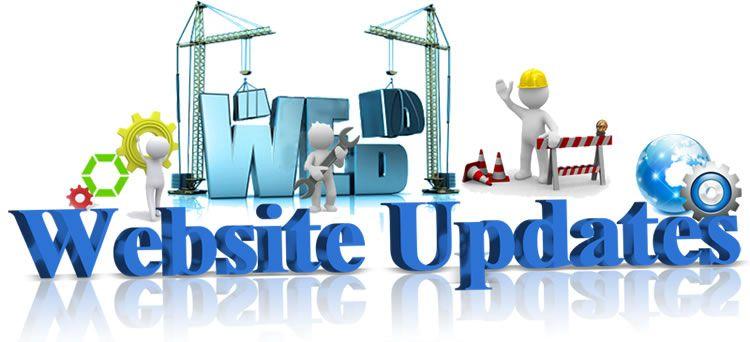 aggiornamento sito web