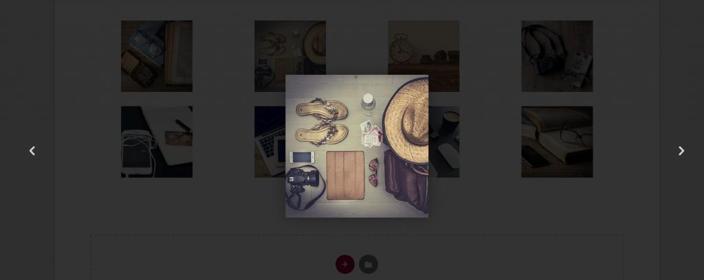 Galleria immagini con elementor